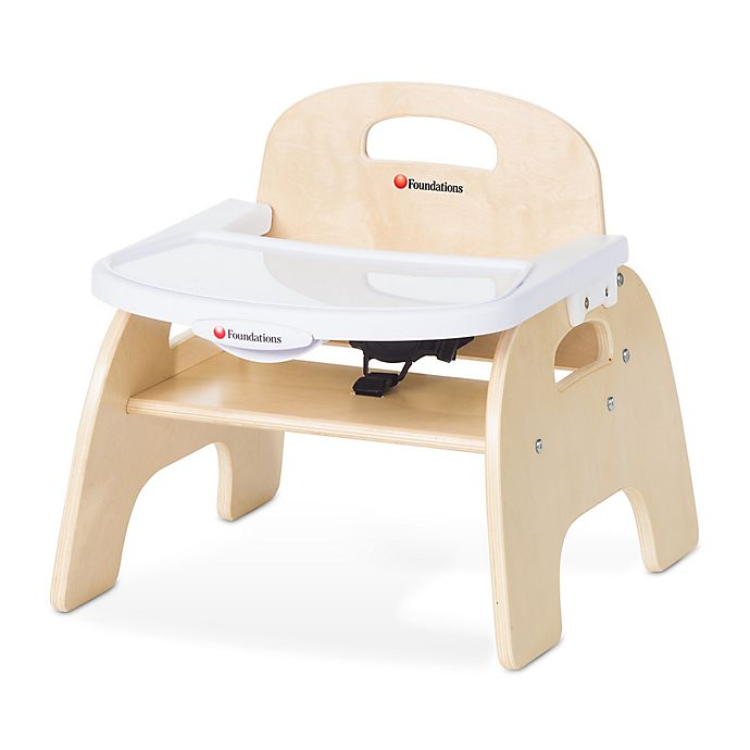 Alternate image 1 for Foundations® Easy Serve™ Child's Feeding Chair in Natural