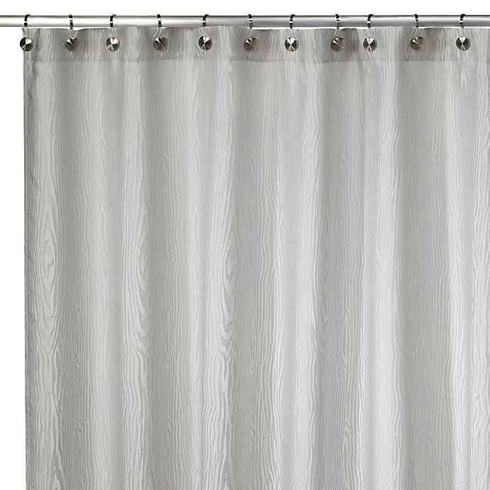 Kenneth Cole ReactionR Home Wood Grain Shower Curtain