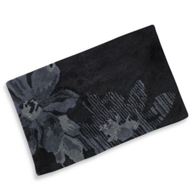 Kenneth Cole Reaction 174 Home Etched Floral Bath Rug Bed