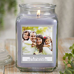 Picture Perfect Personalized Lilac Minuet Candle Jar Collection