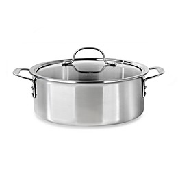 Calphalon® Tri-Ply Stainless Steel 5 qt. Dutch Oven with Lid