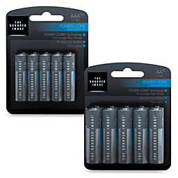 Sharper Image® 10-Pack Alkaline Batteries
