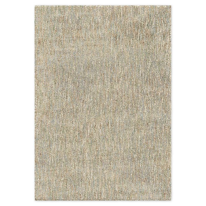 Alternate image 1 for Solid Modern Rug in Mint