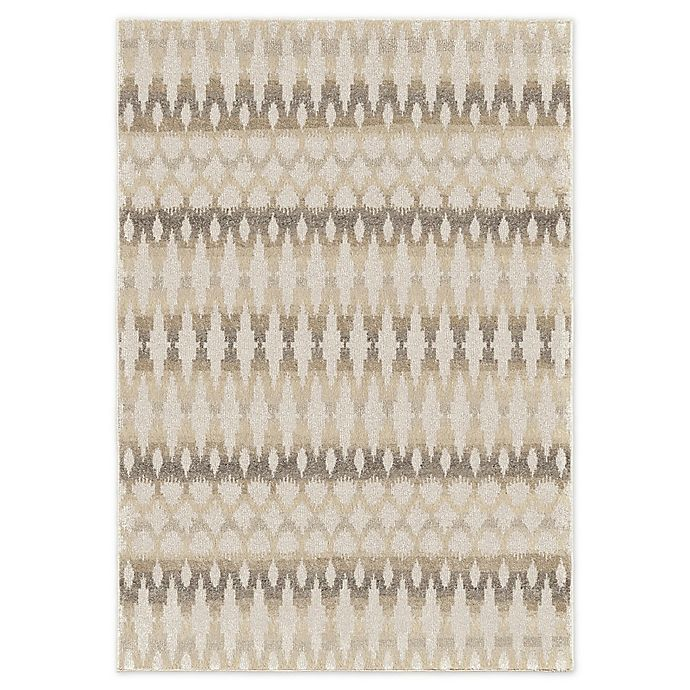 Alternate image 1 for Ikat Ombre Rug in Grey