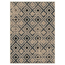 Orian Rugs Chambord Power-Loomed Rug in Dark Steel