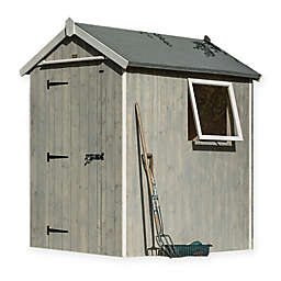 Rowlinson Heritage Storage Shed in Grey