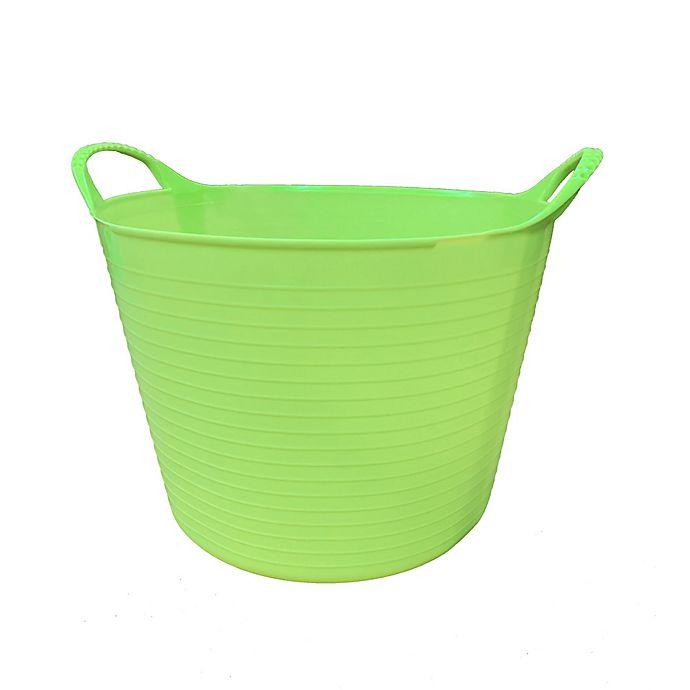 Alternate image 1 for Small 3.7-Gallon Flexible Gorilla Tub in Pistachio