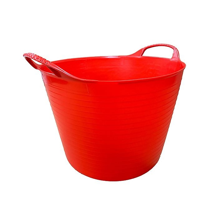 Alternate image 1 for Small 3.7-Gallon Flexible Gorilla Tub in Red
