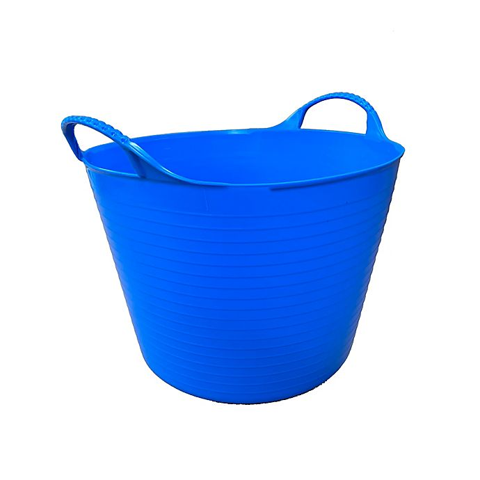 Alternate image 1 for Medium 6.9-Gallon Flexible Gorilla Tub in Blue