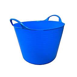 Medium 6.9-Gallon Flexible Gorilla Tub in Blue