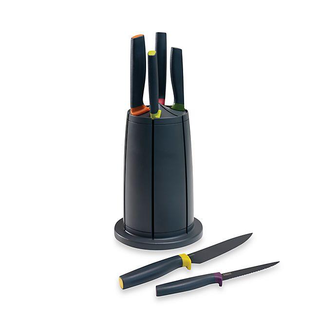 Alternate image 1 for Joseph Joseph® Elevate Knives Carousel 6-Piece Knife Set
