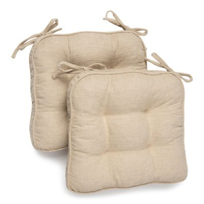 Stafford Chair Pads Set Of 2 Bed Bath Amp Beyond
