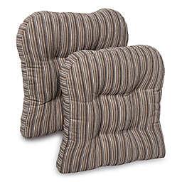 Huntington Memory Foam Chair Pads (Set of 2)