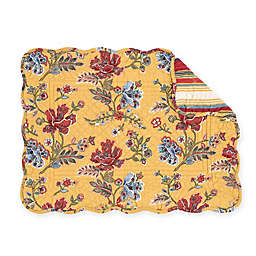 C&F Home Bexley Placemats in Yellow (Set of 6)