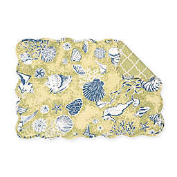 C&F Home Dorian Placemats in Green (Set of 6)