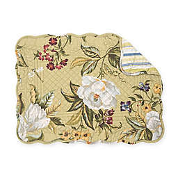 C&F Home Kassandra Placemats in Green (Set of 6)