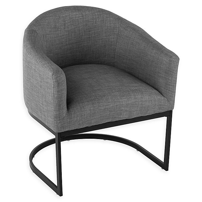 Alternate image 1 for Southern Enterprises Sharon Barrel Chair in Soft Grey
