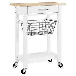 Dorel Living Fillmore Multi-Function Cart in White