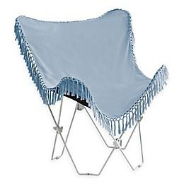 Folding Tassel Butterfly Chair