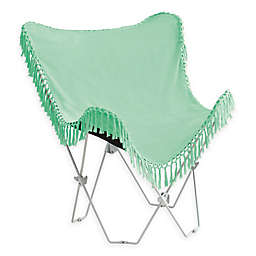 Folding Tassel Butterfly Chair