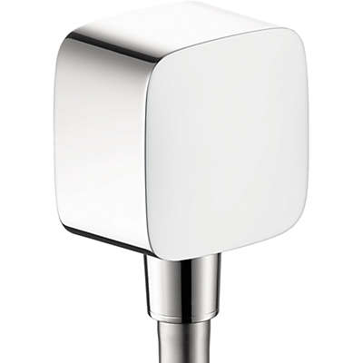 Hansgrohe PuraVida™ Wall Outlet with Check Valve in Chrome