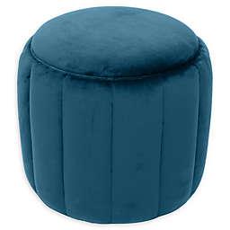 Tov Furniture™ Velvet Upholstered Ives Ottoman