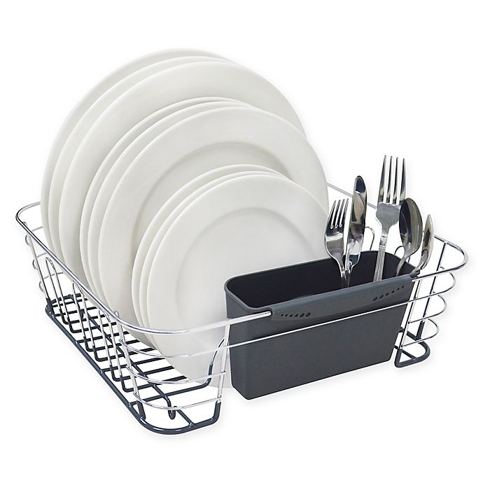Alternate image 1 for ORG Deluxe Medium Dish Drainer