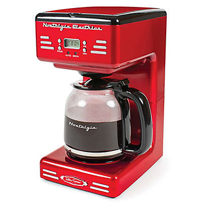 Nostalgia™ Electrics Retro Series RCOF120 Electric Coffee Maker in Red