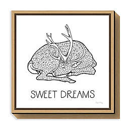 Amanti Art Color the Forest III Sweet Dreams Framed Canvas Wall Art