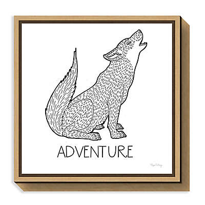 Amanti Art Color the Forest VI Adventure Framed Canvas Wall Art