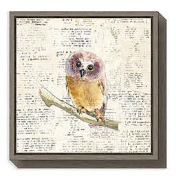 Amanti Art® Emily Adams Animals 16-Inch Square Framed Canvas in Grey