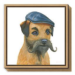 Amanti Art The Boys VII Dog Framed Canvas Wall Art