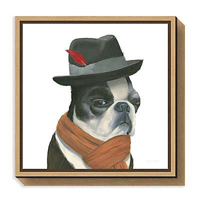 Amanti Art The Boys VIII Dog Framed Canvas Wall Art
