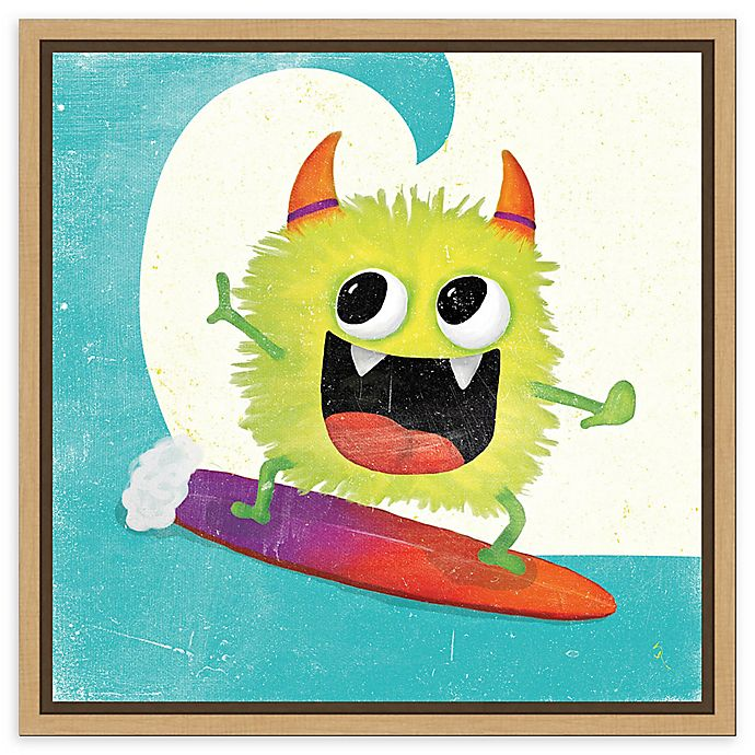 Alternate image 1 for Amanti Art Xtreme Monsters III Framed Canvas Wall Art