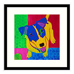 Amanti Art® Just Jack 17-Inch Square Framed Wall Art