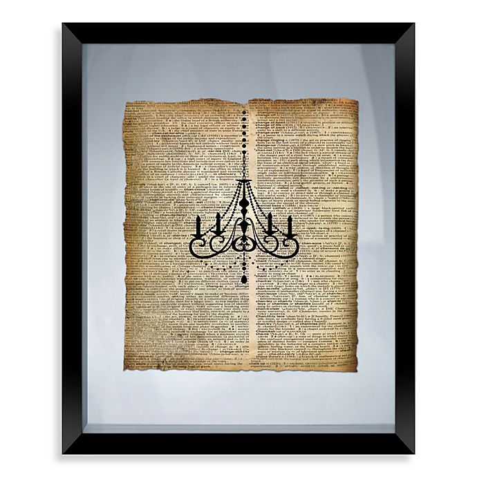 Alternate image 1 for Chandelier Framed Wall Art