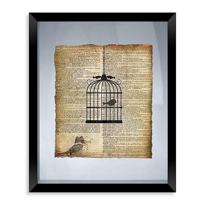 Alternate image 1 for Birdcage Framed Wall Art