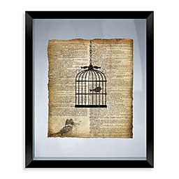 Birdcage Framed Wall Art