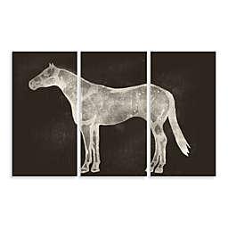 Horses Three-Panel Wall Art