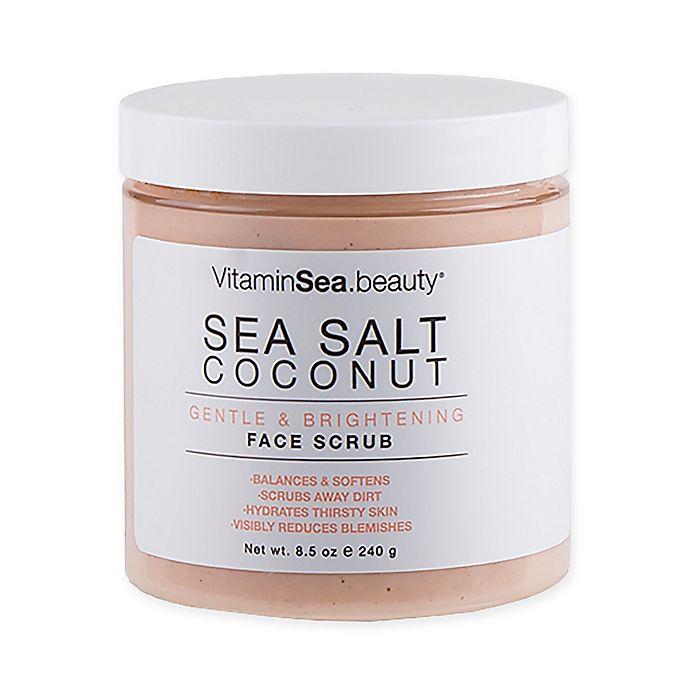 Alternate image 1 for VitaminSEA.beauty® 8.5 fl. oz. Gentle & Brightening Face Scrub
