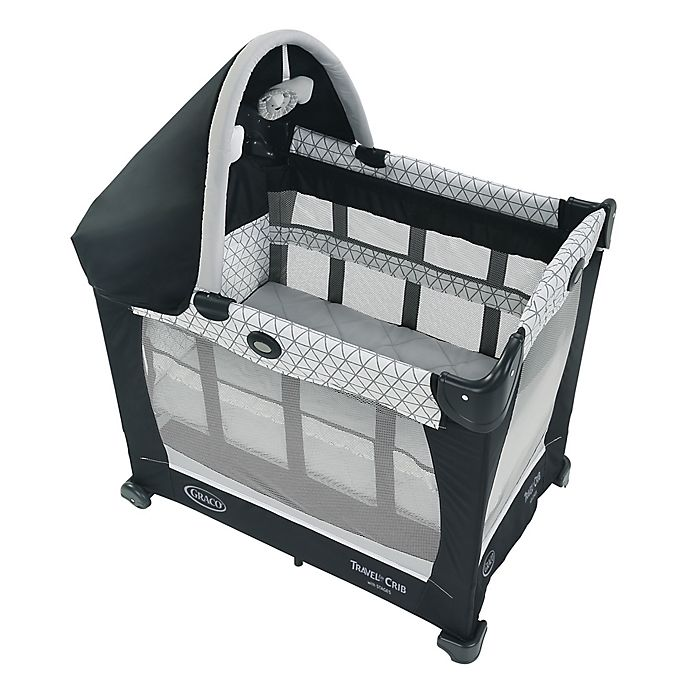 Alternate image 1 for Graco® Travel Lite® Crib with Stages in Black