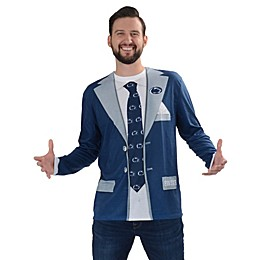 Penn State University Men's Faux Suit Long Sleeve T-Shirt
