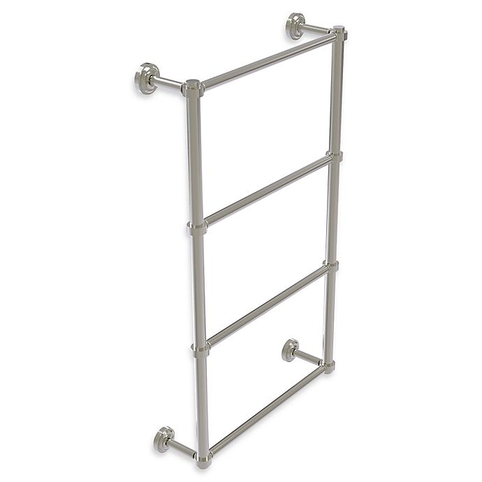 Alternate image 1 for Allied Brass Dottingham Collection 4-Tier Ladder Towel Bar