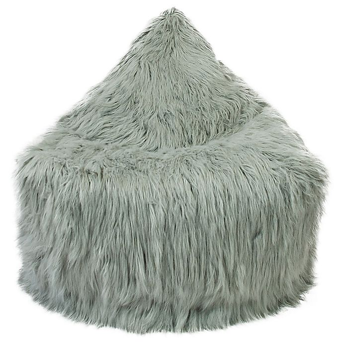Alternate image 1 for Mimish Himalaya Faux Fur Storage Lounger