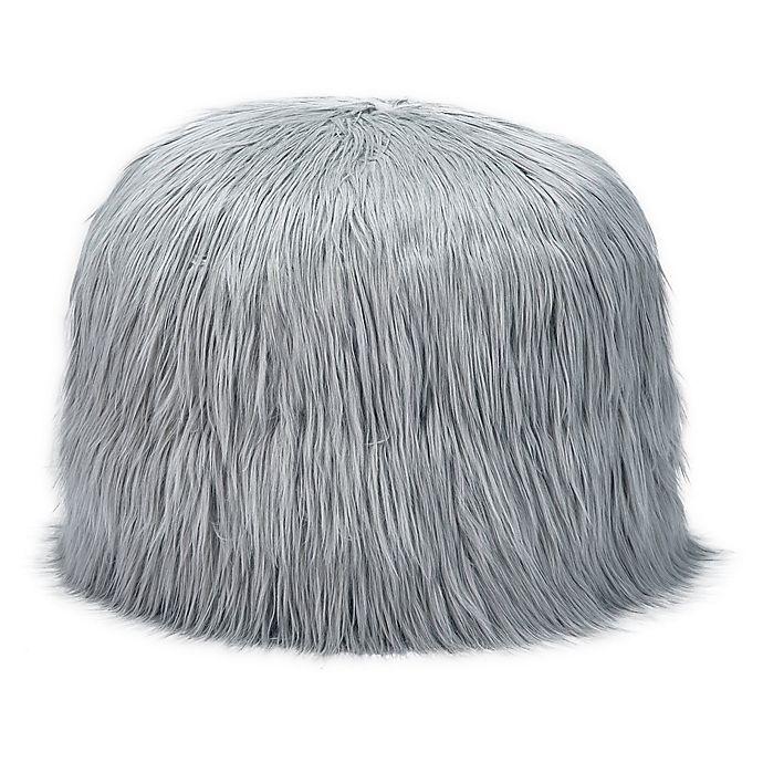 Alternate image 1 for Mimish® Himalaya Faux Fur Storage Pouf in Software