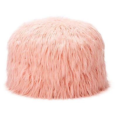 Mimish® Himalaya Faux Fur Storage Pouf