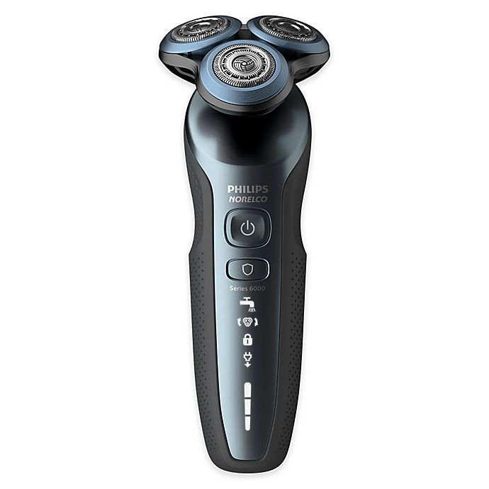 Alternate image 1 for Philips Norelco® Cordless Electric Shaver with Precision Trimmer in Blue