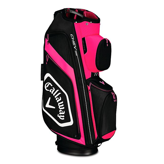 Alternate image 1 for Callaway® Chev Stand Golf Bag in Pink/Black