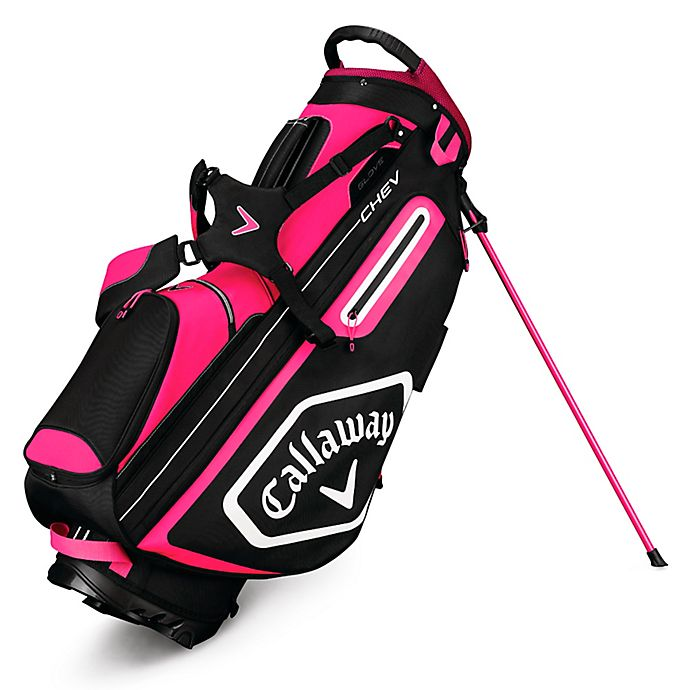 Alternate image 1 for Callaway® Chev Stand Golf Bag in Pink/White