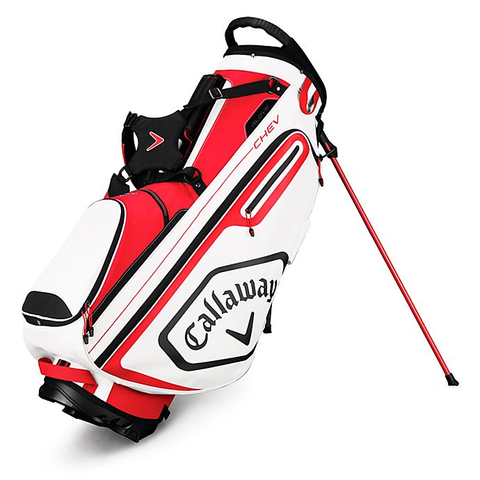 Alternate image 1 for Callaway® Chev Stand Golf Bag in Red/White